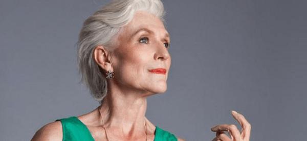69-летняя модель Мэй Маск о правилах красоты и здоровья.