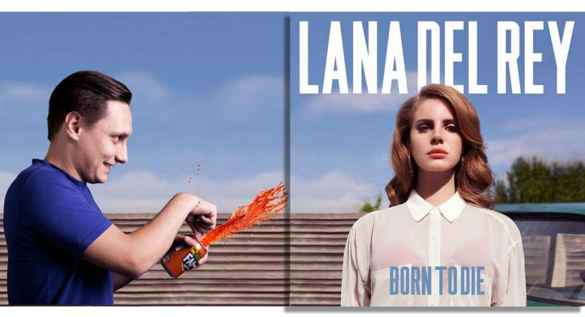 Парень так ловко размещает себя на обложках культовых музыкальных альбомов, что кажется, он там был всегда