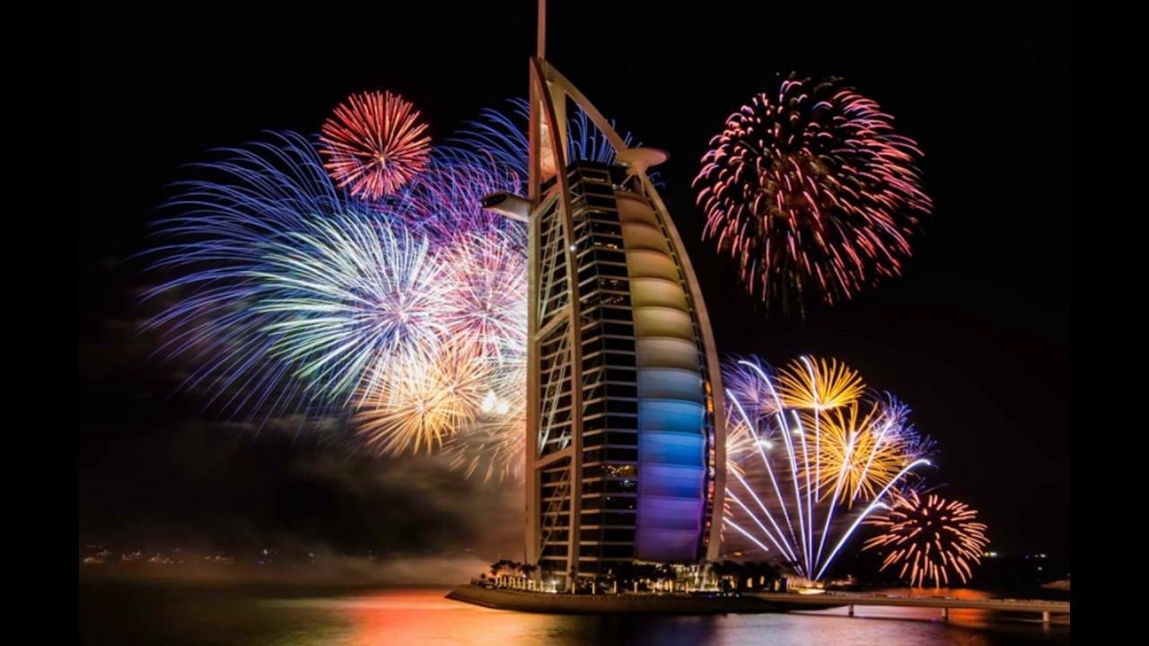 Новогоднее световое шоу в Дубае попало в книгу Рекордов Гиннеса