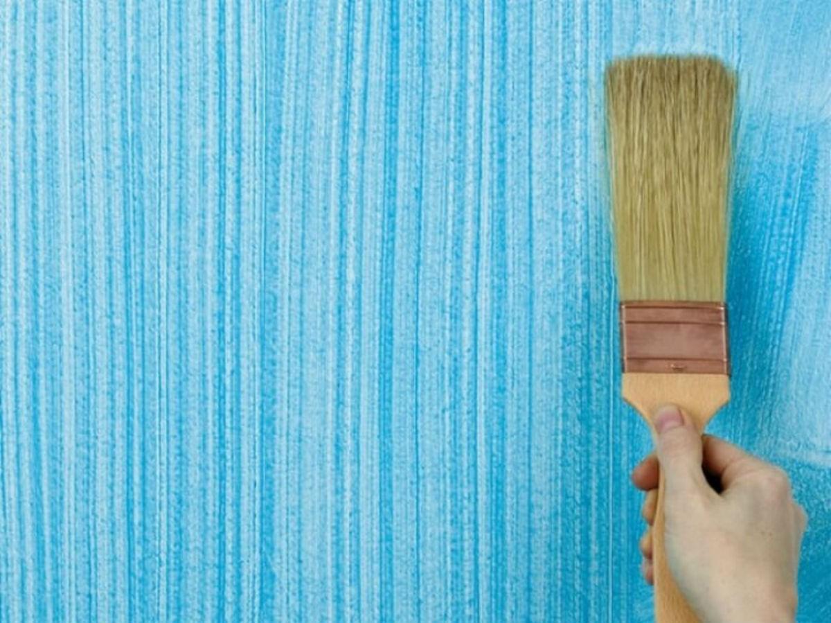 Покрасить стены, как в элитном жилье, но только за копейки
