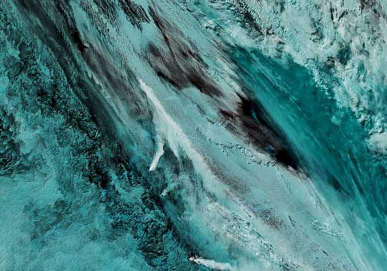 Вот как выглядит наша планета из космоса