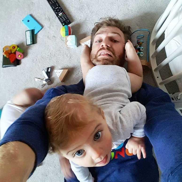 Своим правдивым Инстаграмом многодетный отец покорил интернет