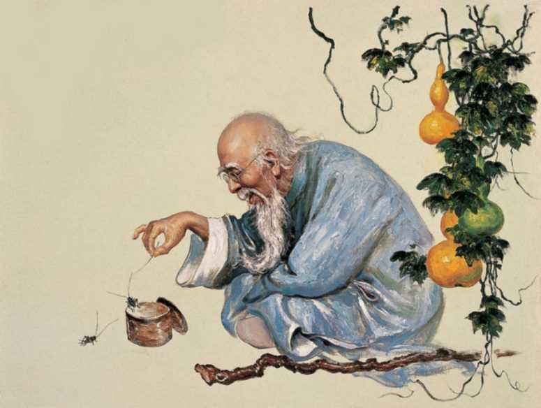 История о том, как к мастеру Вану пришли трое его детей, и каждый захотел странного