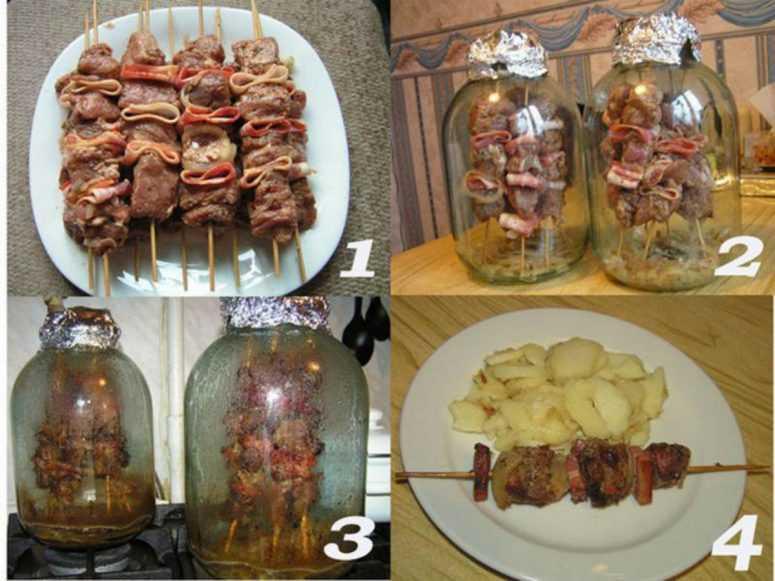 Как сделать шашлык в духовке: из курицы, баранины, свинины 892
