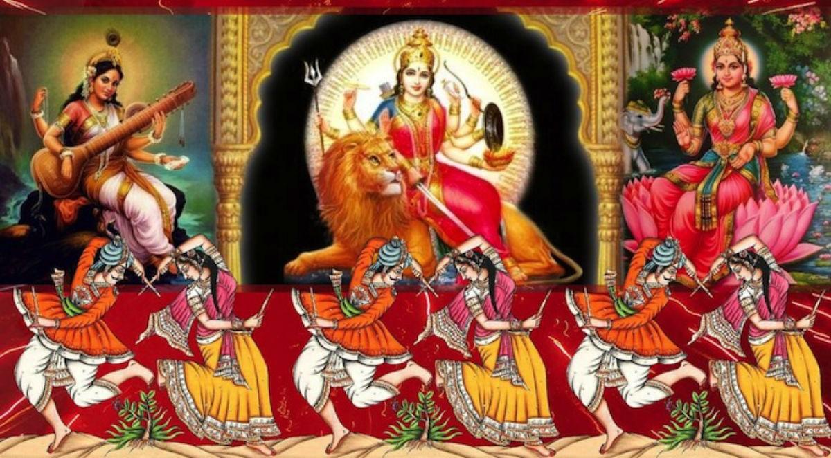 Васанта Наваратри — весенние девять ночей Богини Матери