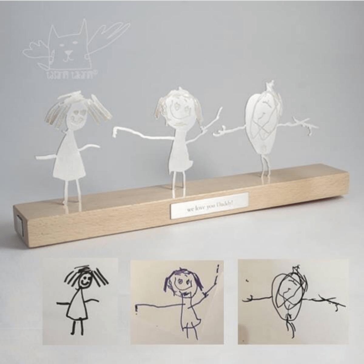 Ювелирная компания делает украшения из каракуль детей — и это прекрасно
