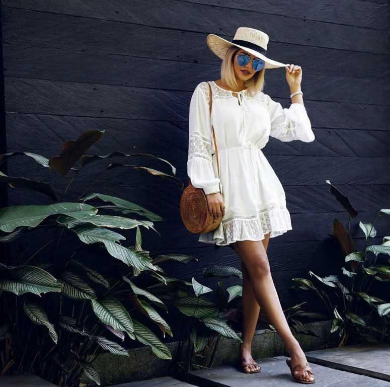 Летние образы модных блогеров