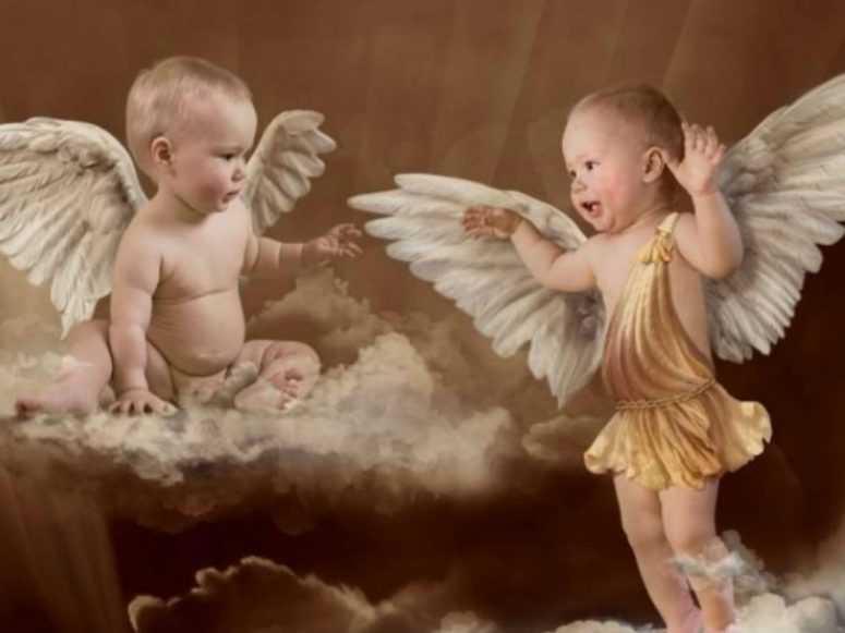 Разговор двух ангелов-хранителей