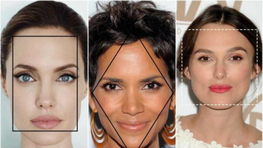 Узнайте характера по форме и вашего лица