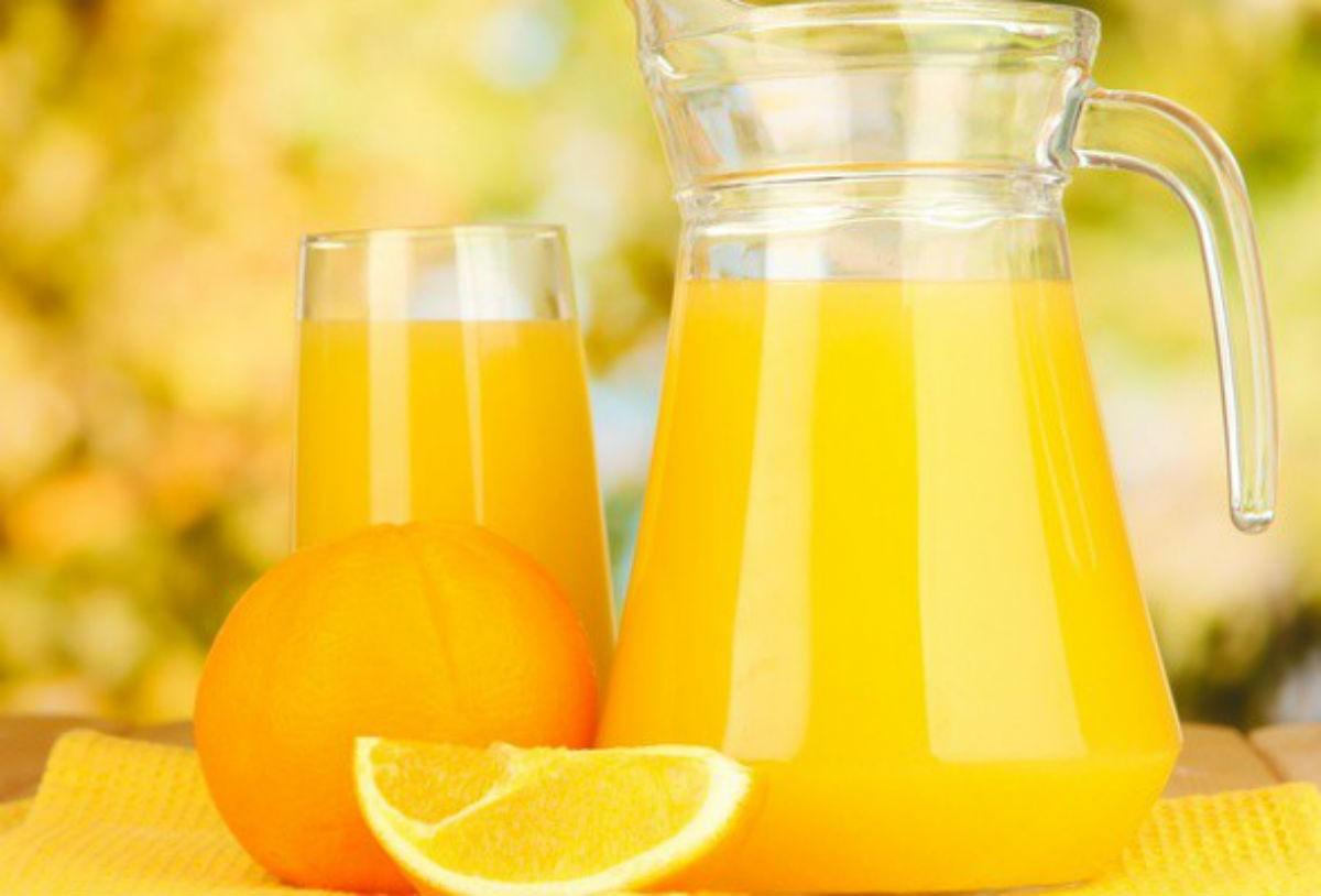 Способ приготовления сока из 4 апельсина