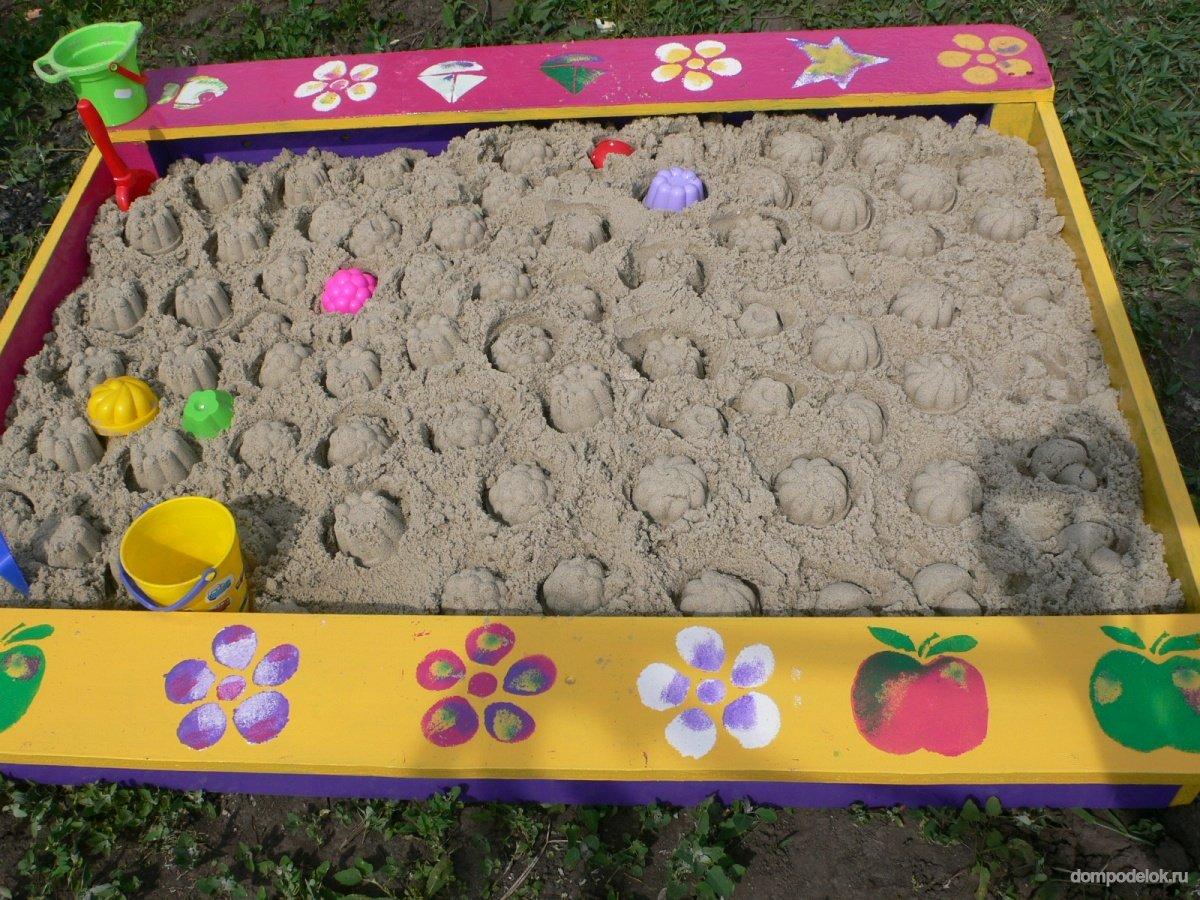 Какой нужно, чтобы была песочница для детей