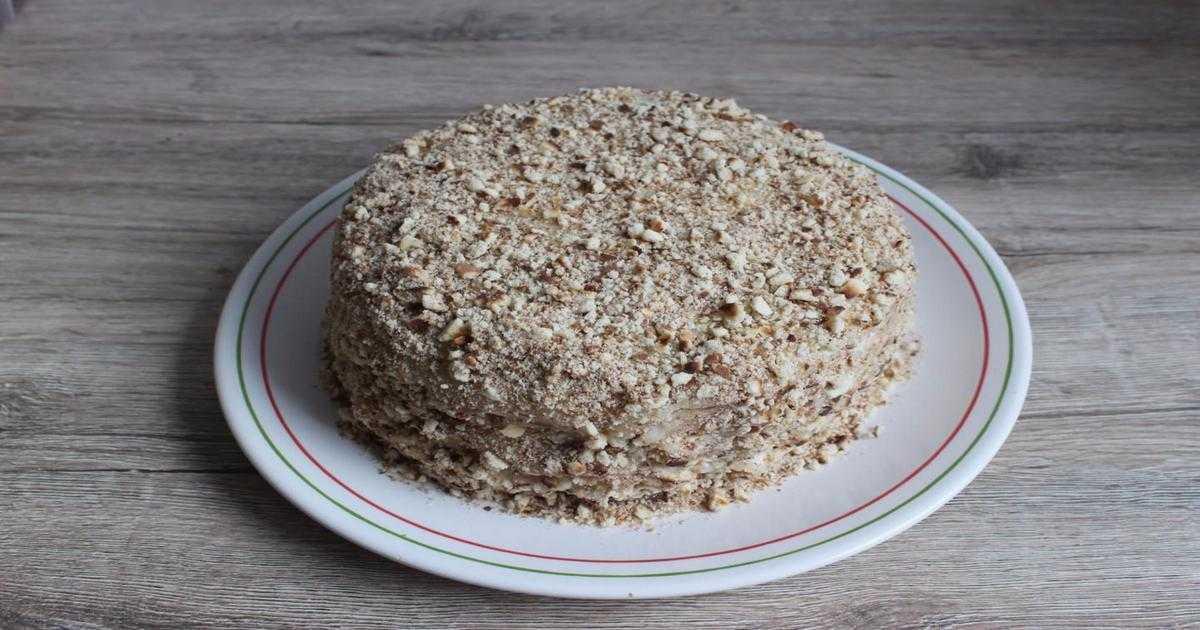 Торт «Светланка» без выпечки — объедаемся всей семьёй